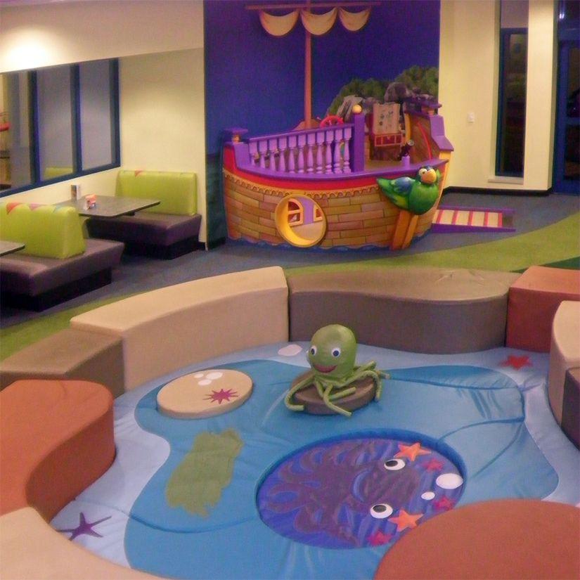 hospital children's play room family ship soft play