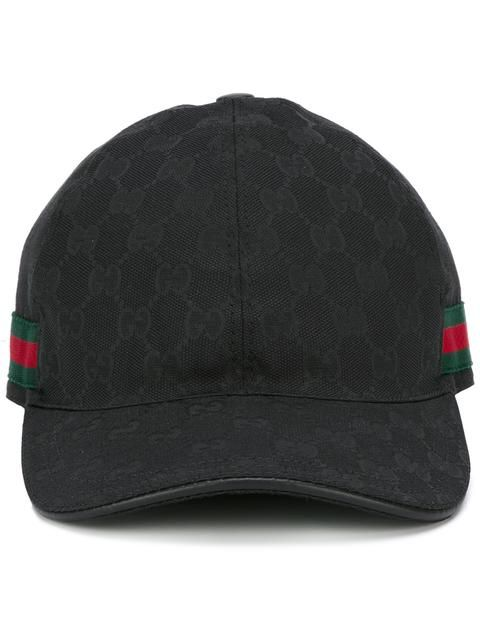 e29d201a100 GUCCI GG Supreme Web baseball cap.  gucci  cap