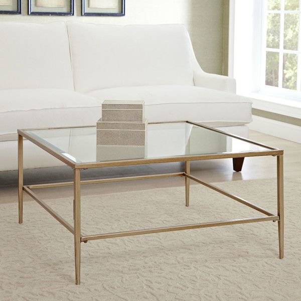 Birch Lane Nash Square Coffee Table   BestProducts.com