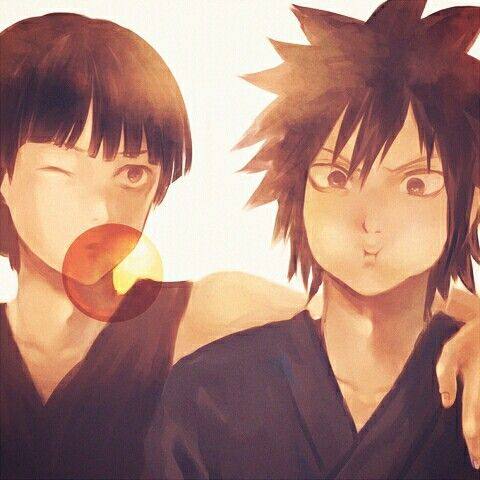 Does this make madara and hashirama a reversal of the sasuke and naruto relationship, with hashirama being the super cool guy and madara the jealous (relatively) weaker. Hashirama / Madara :) I love this more than words can ...
