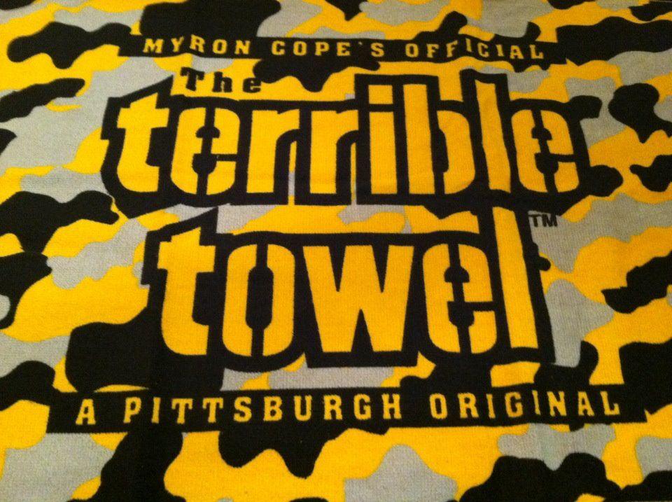 terrible towel Steeler nation, Steelers fan, Here we go