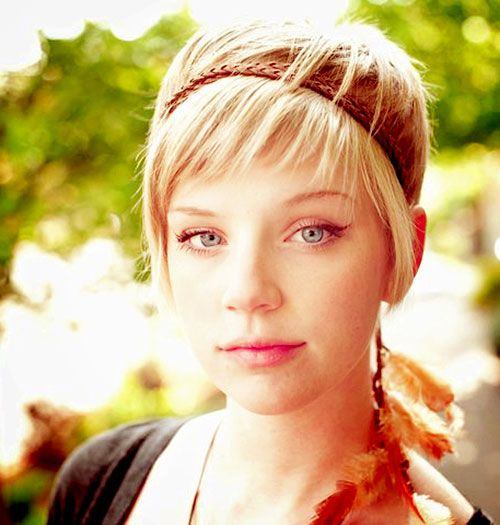 20 Cute Short Hair For Women Short Hairstyles 2014 Haircuts For Little Girls With Thin Hair Most Hairstyles And Nai Frisuren Kurze Haare Modell Hippie Frisur
