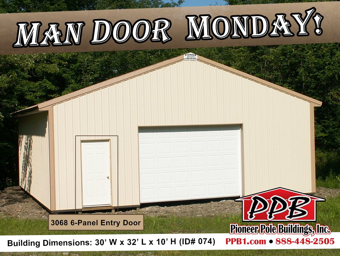 Man Door Monday Dimensions 30 W X 32 L X 10 H Id 074 30 Standard Trusses 4 On Center 4 12 Pitch Openings 1 12 Outdoor Structures Shed Outdoor