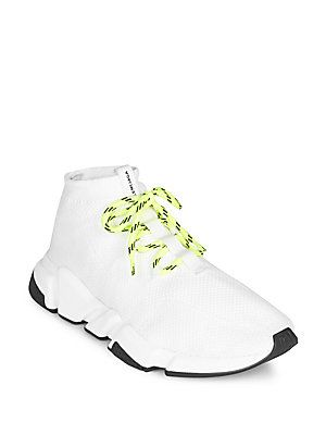 da40845f16541 Balenciaga Lace-Up Knit Sock Sneakers