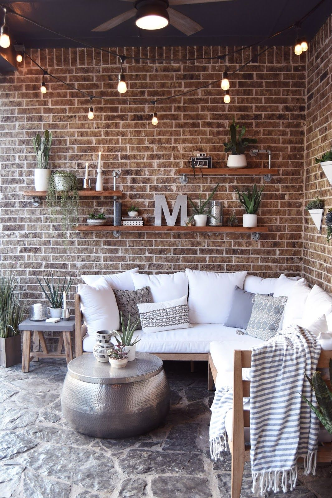 Pillow Thought Home Outdoor Living Space If You Are New Coming From Egg Shell Home Welcome I M So Glad You Patio Wall Decor Outdoor Patio Decor Patio Decor