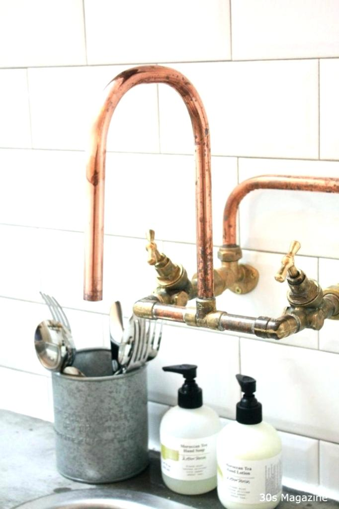 Steampunk Faucet Google Search Copper Faucet Copper Kitchen Faucets Industrial Kitchen Faucet