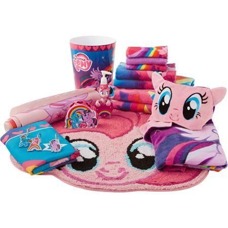 Hasbro My Little Pony Shower Curtain Hooks