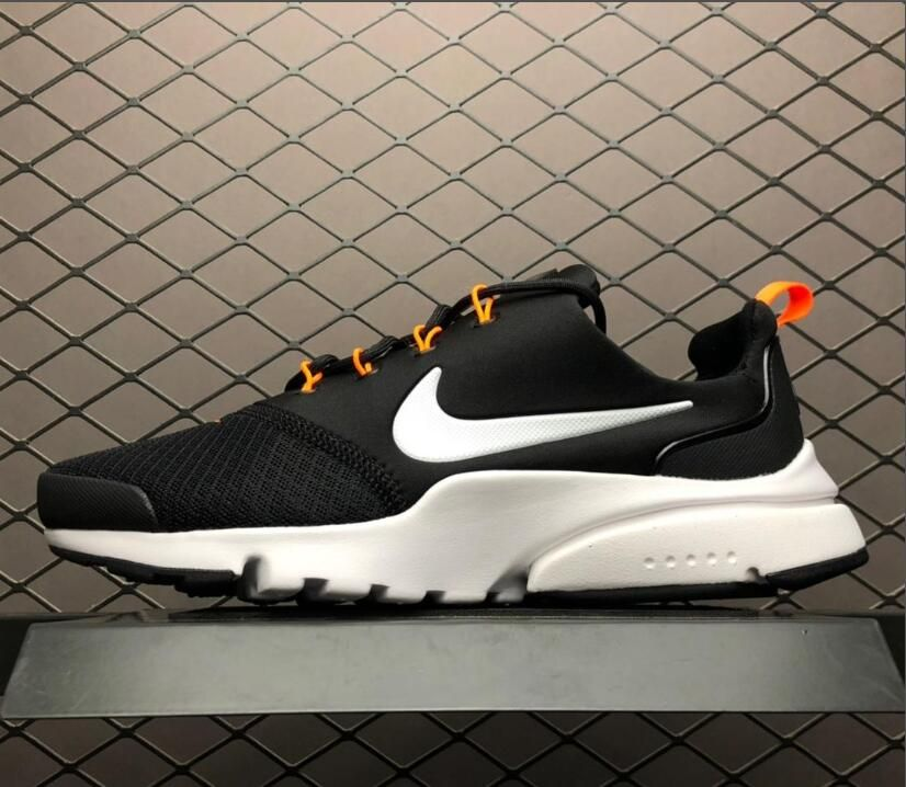 "94a51d0ac4db Men s Nike Air Presto Fly ""Just Do It"" Black Orange AQ9688-001 ..."