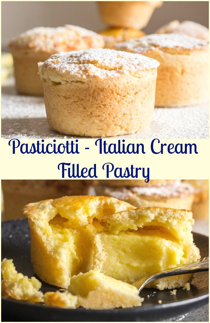 Pasticciotti Italian Cream Filled Tarts - An Italian in my Kitchen