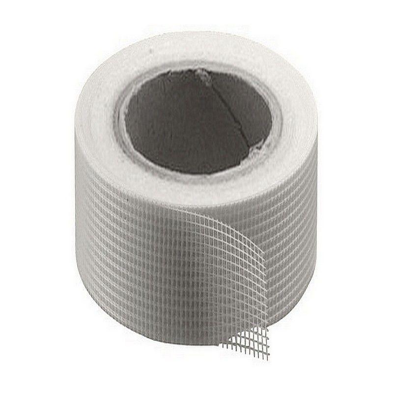 Bande A Joint Et A Fissure En Fibre De Verre Adhesive 10 Cm X 20 M En 2020 Toile De Verre Fibre De Verre Revetement