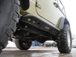 Lod 2007 2014 Jeep Jk Signature Series 2 Door Rock Sliders Jeep Jk Rock Sliders Jeep