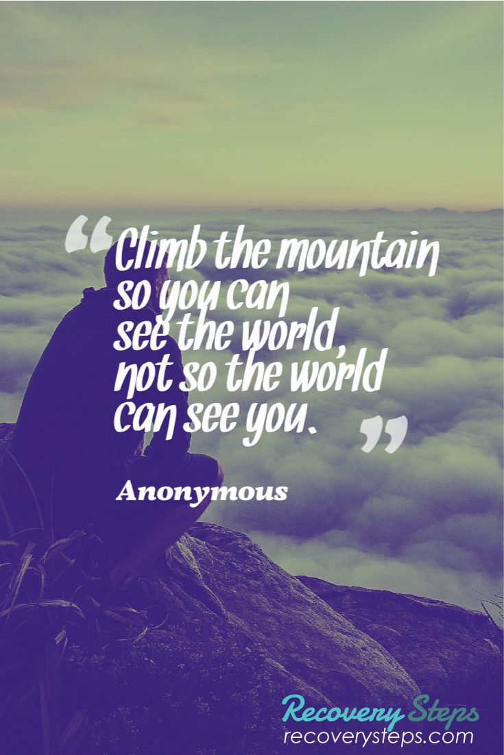 Quotes About Climbing Interesting Inspirational Quotesclimb The Mountain So You Can See The World .