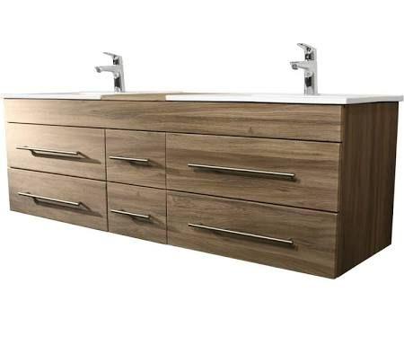 meuble salle de bain 140 cm double vasque - Recherche Google Salle