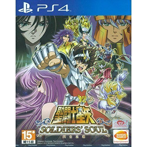 PS4 Saint Seiya Soldiers Soul Asian version Chinese subtitle