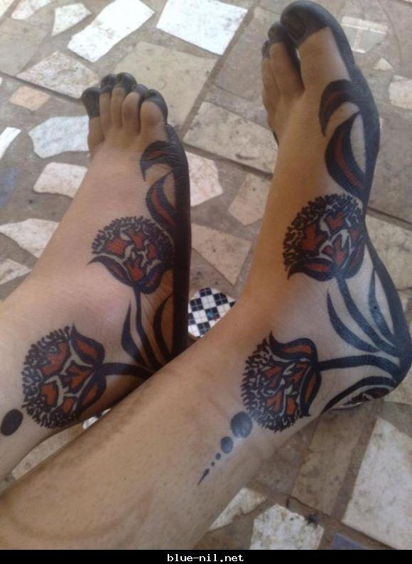 Pin On Sudanese Henna Inspiration