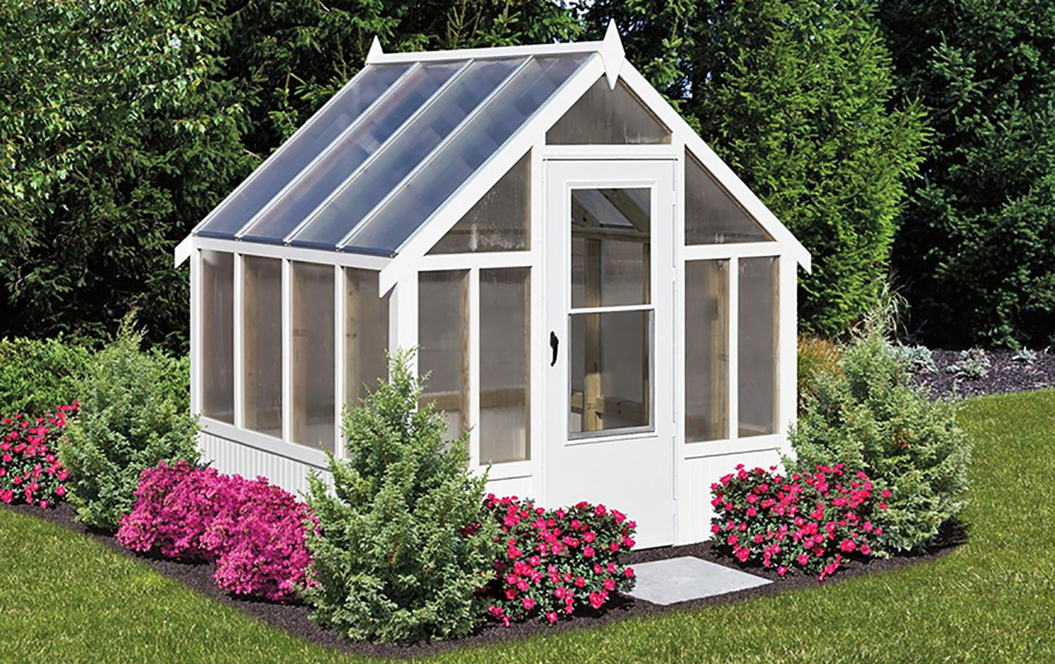 Prebuilt Greenhouse Not A Kit Greenhouses For Sale Backyard Greenhouse Greenhouse Shed Backyard greenhouse for sale