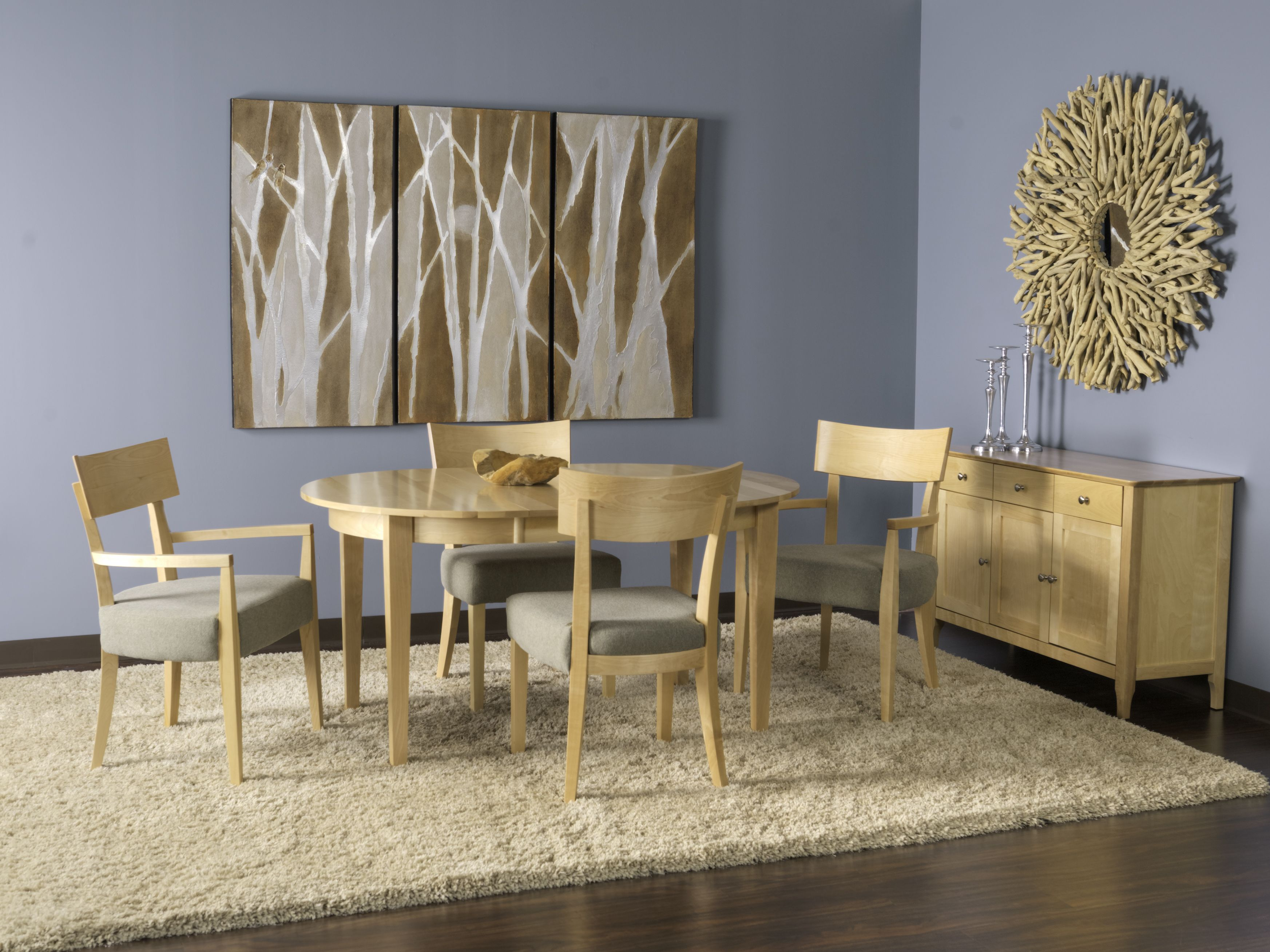 dining room set from uptown modern classics and is available in our plymouth and lakeville showrooms - Uptown Modern Furniture Toronto