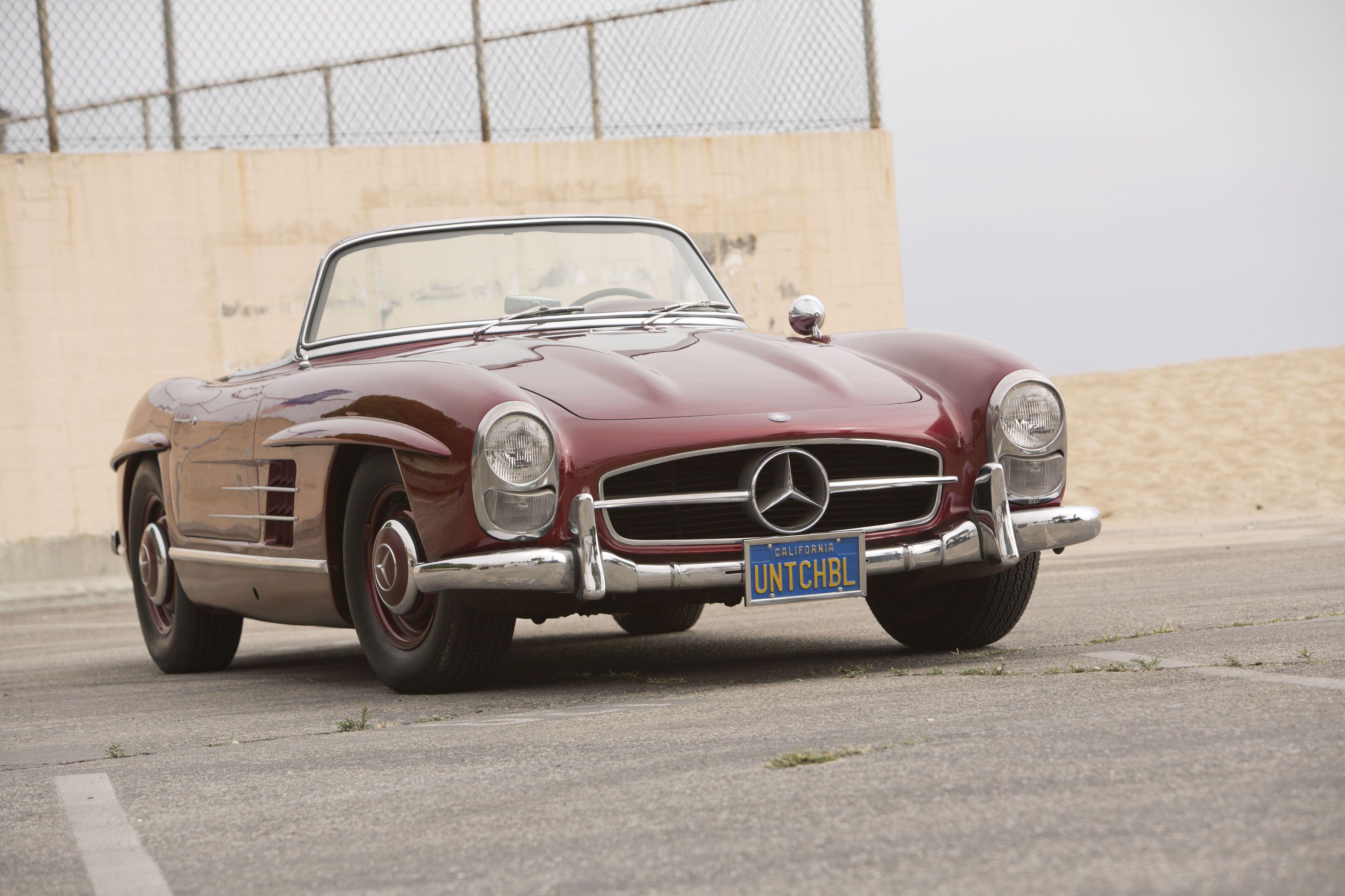 1960 Mercedes Benz #300SL. Seen on: http://maildogmanager.com ...