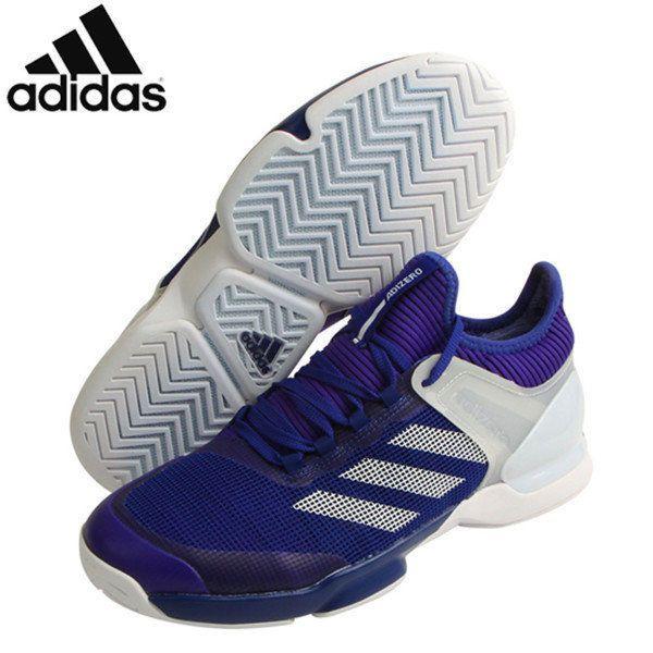 [Adidas] CM7437 Adizero Ubersonic 2 Men Tennis Shoes Sneakers White Black