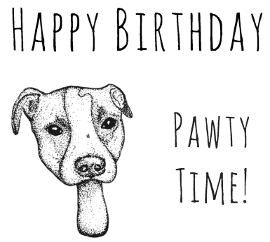 Dog Pun Card Play On Words Birthday Woof Woof 350 Puns For