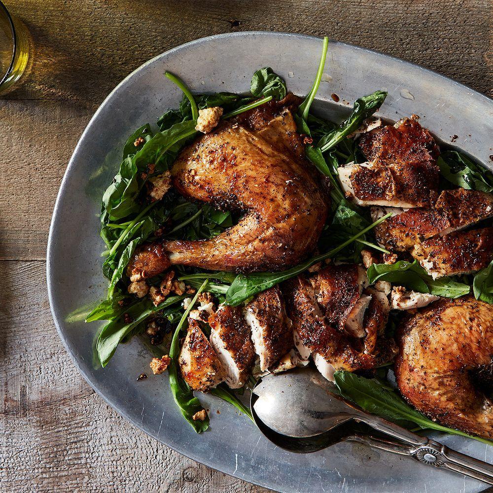 This Genius, Crazy-Good Roast Chicken Has a Funny