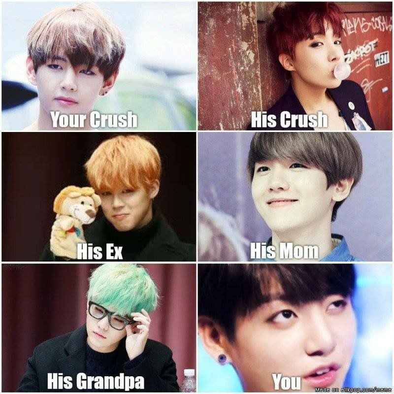 Pin By Am On Bts Memes Basically Their Whole Existence Bts