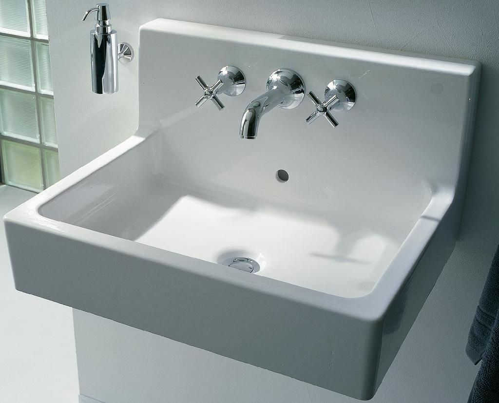 Duravit Waschtisch Vero Air 600 Mm Vero Wall Mounted Washbasin 23 5 8