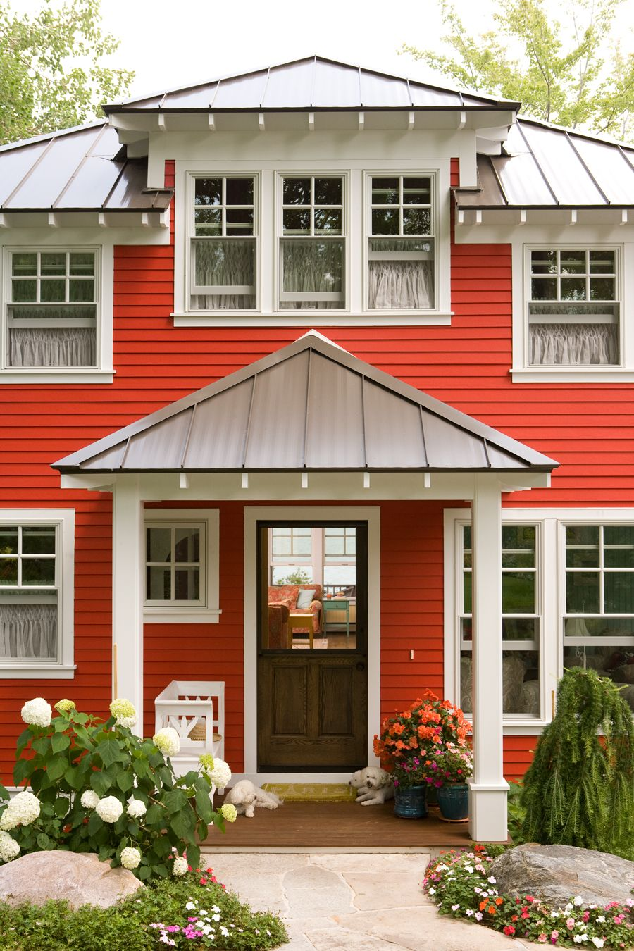 creating the perfect summer cottage on walloon lake on lake cottage colors id=43067