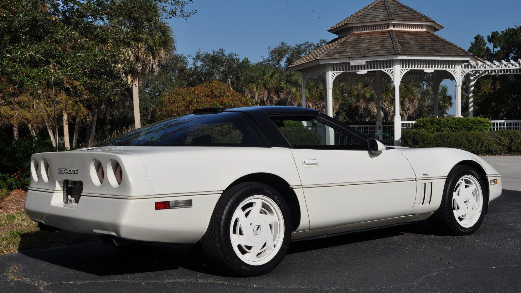 1988 Chevrolet Corvette Coupe 35th Anniversary Edition Corvette Chevrolet Corvette Chevrolet