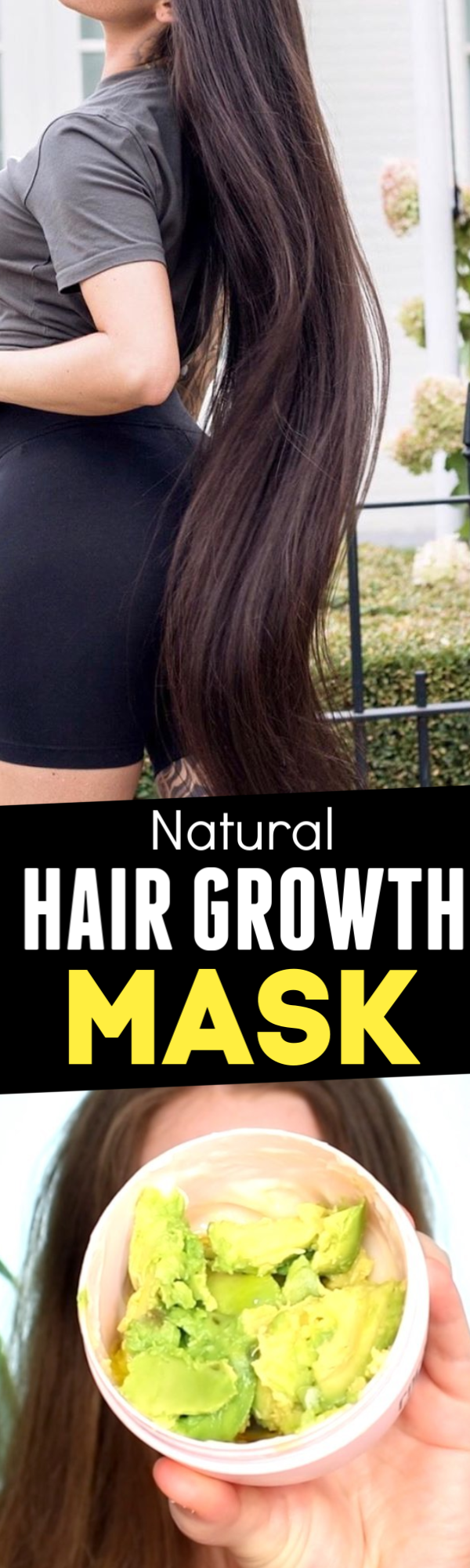 Overnight hair growth mask, increase hair length by 3 inches in just 1 month #fasterhairgrowth
