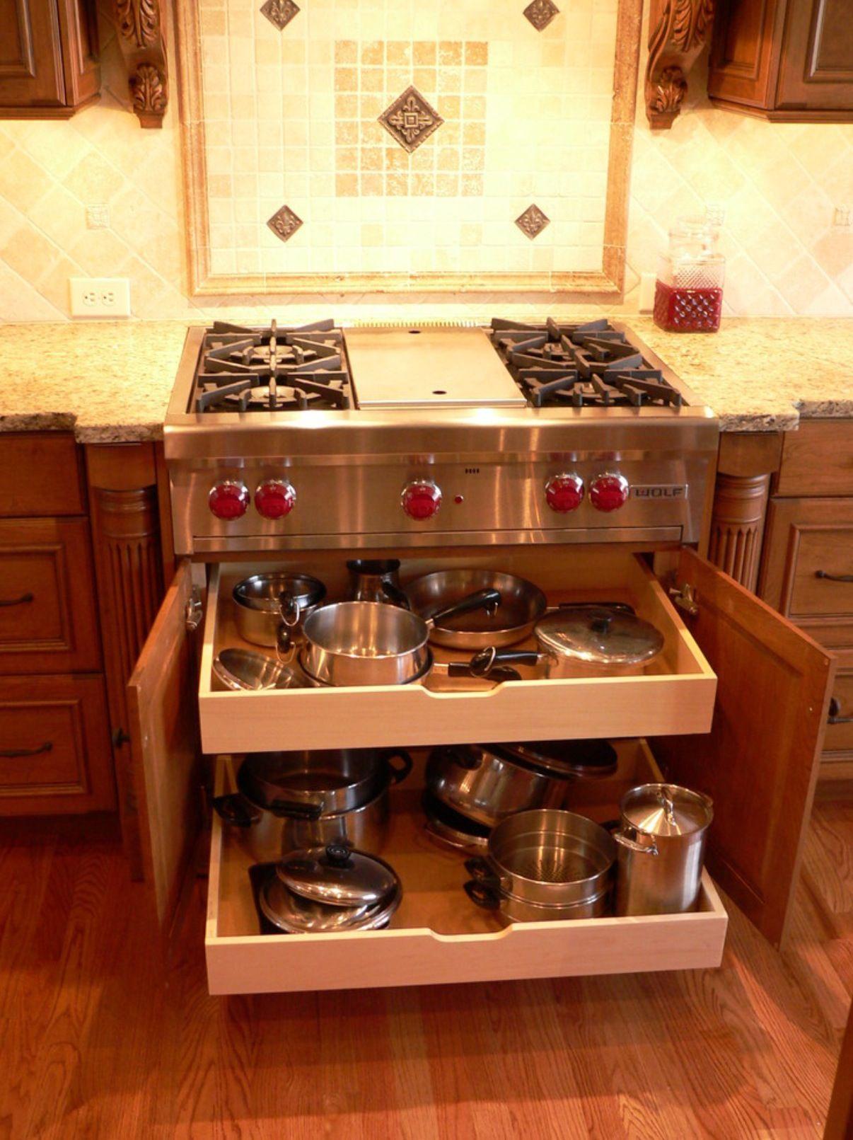 Organizador De Ollas Muebles De Cocina Decoraci 243 N De