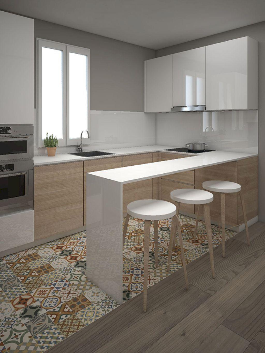 45 Modern Contemporary Kitchen Ideas | Cocinas, Casas y Cocina pequeña