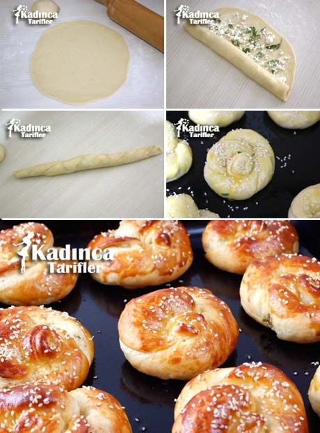 Peynirli Açma Poğaça Tarifi Videosu