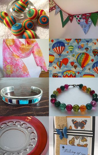 What a Colorful Life by Poppy Lesti on Etsy--Pinned with TreasuryPin.com