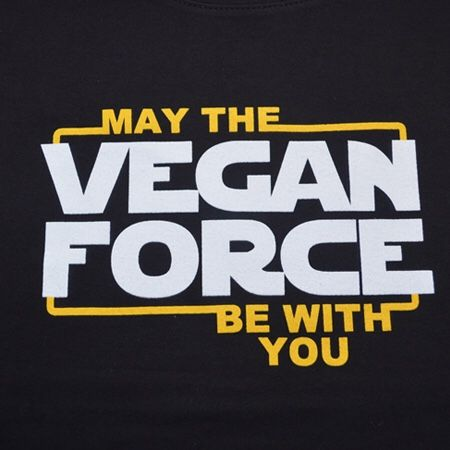 """those-who-can-not-speak: """"May the 4th be with you!!! And go vegan, please ;) """" (◡‿◡✿)"""