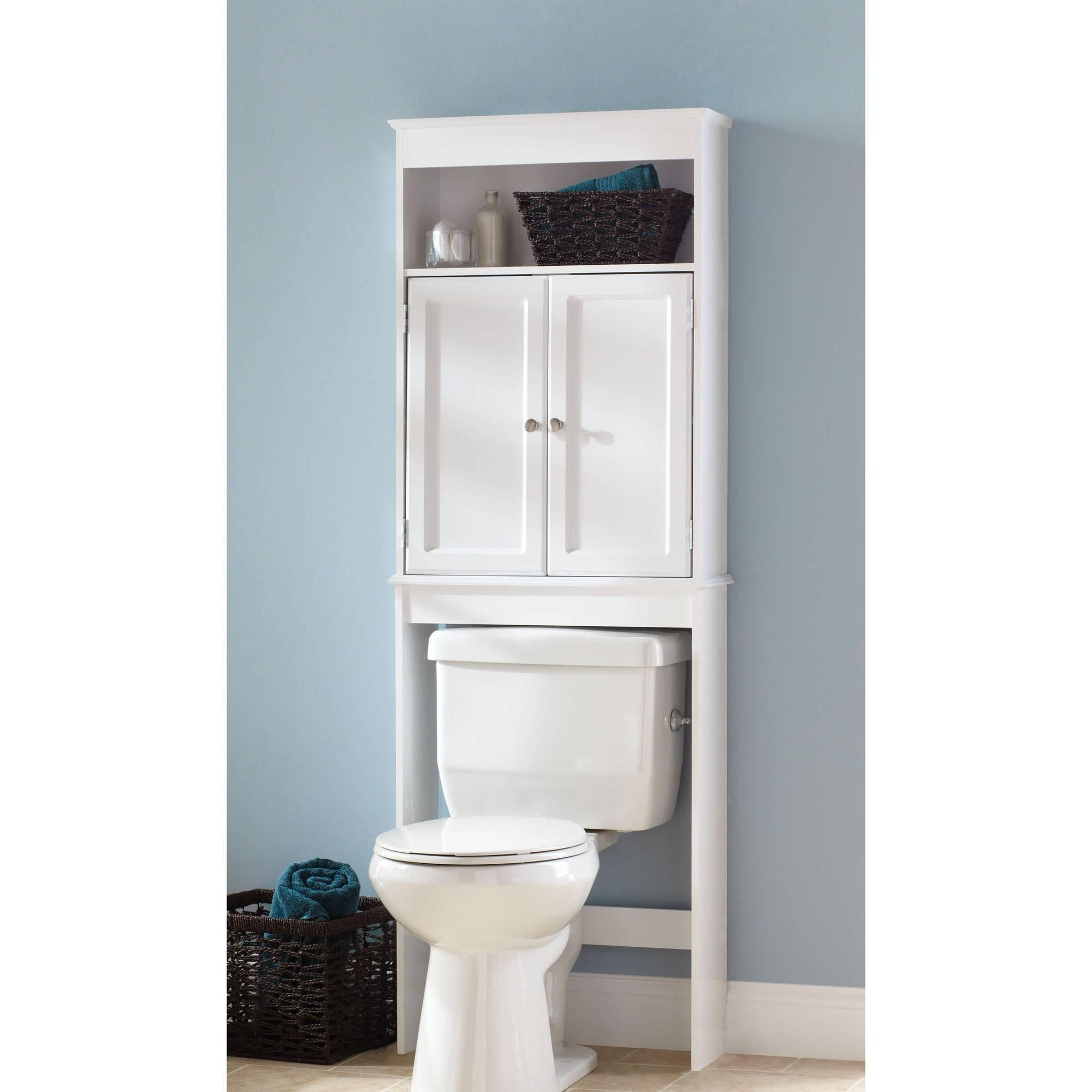 Bathroom shelves over toilet walmart | ideas | Pinterest | Bathroom ...