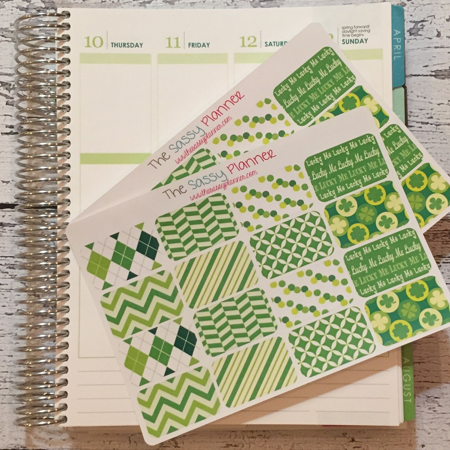 NEW! March Monthly Half Box Stickers for Erin Condren Life Planner/Plum Paper Planner - Set of 32