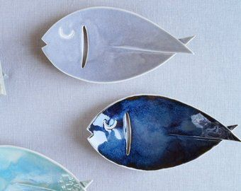 FISH ceramic soap dish made to order FISH ceramic soap dish made to order