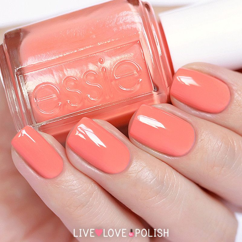 Nail Polish Colors Essie: Essie Peach Side Babe Nail Polish (Summer 2015 Collection