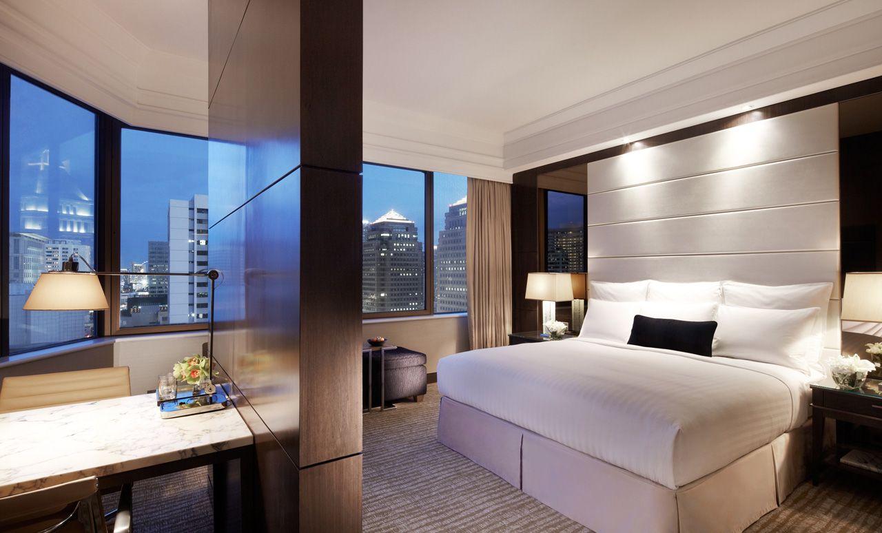 Studio Room At Marriott Singapore Designed By Hba Hirsch Bedner Associates Gorgeous Guest
