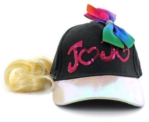 ca8a50b0783 JoJo Siwa Girls Jo Jo Baseball Cap One Size