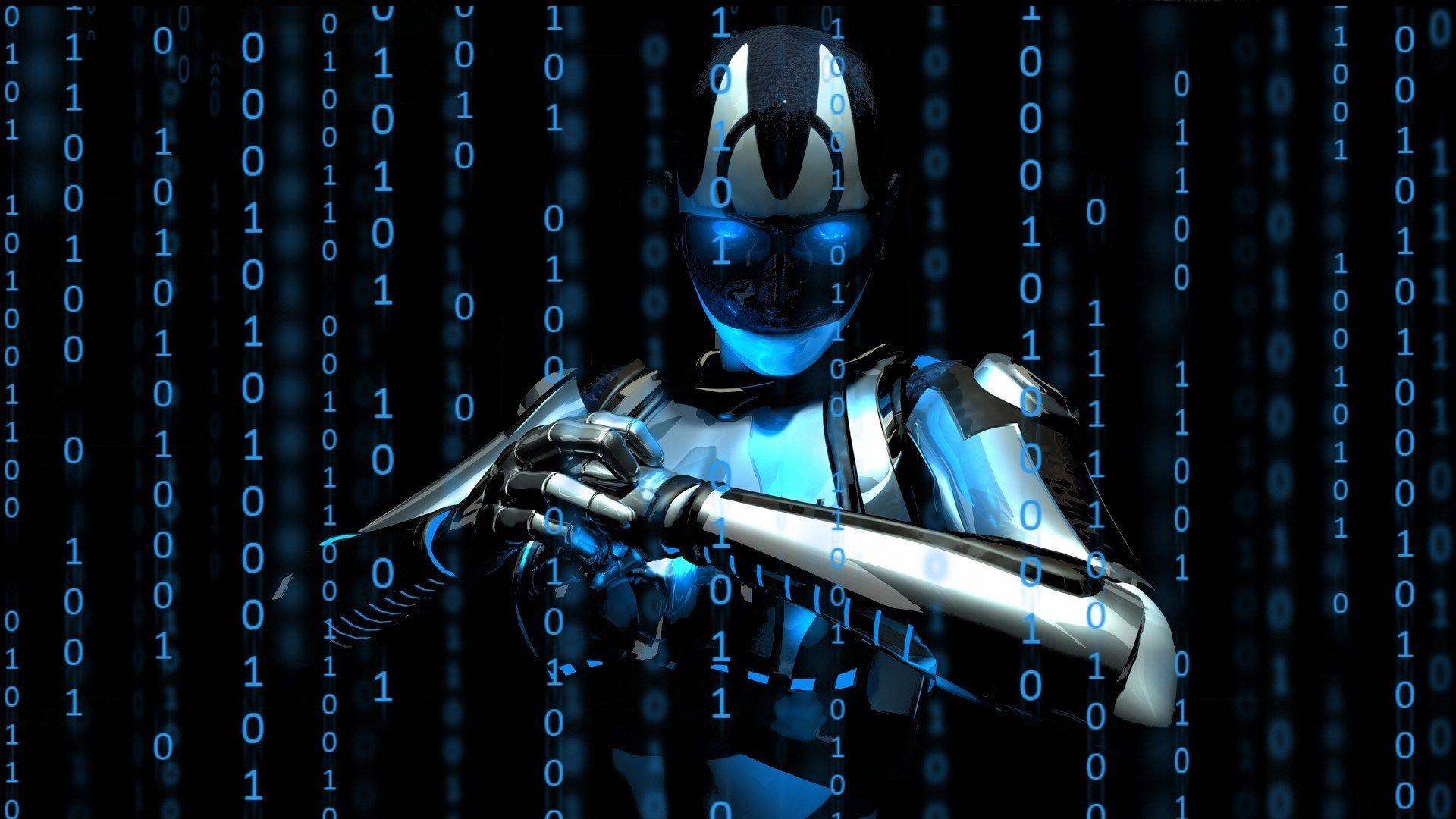 Computer Science Hd Photo Robot Wallpaper Computer Wallpaper Hd Cyborg
