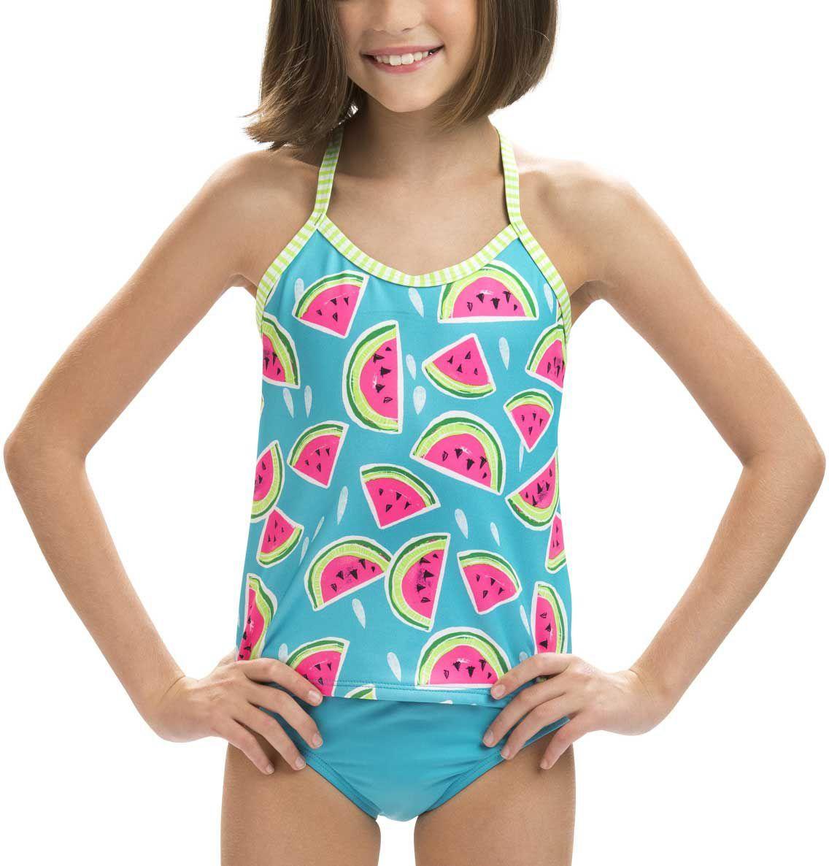 6a0d21337aab4 Dolfin Girls' Uglies Printed Tankini Swim Sets, Lifestyle Online, Pretty  Baby, Trendy
