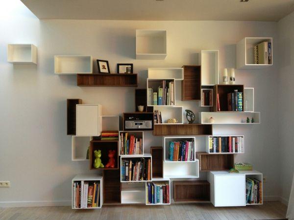 les tag res cubes comme mobiliers pratiques et comme d coration maison etagere cube. Black Bedroom Furniture Sets. Home Design Ideas