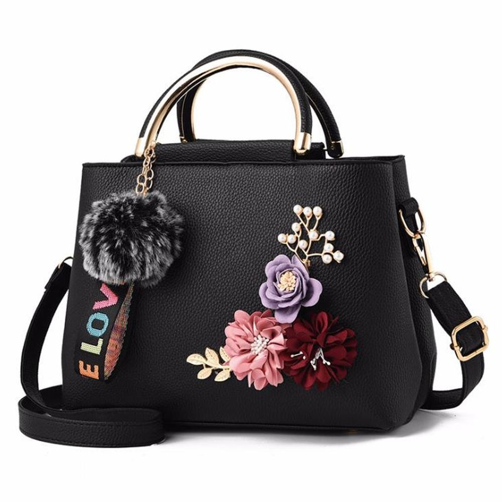 Small Flowers Women Shoulder Bag Women Messenger Handbag Luxury Fancy Style  Bag  SmallFlowersChina  Crossbody 2eb2bc613bf55