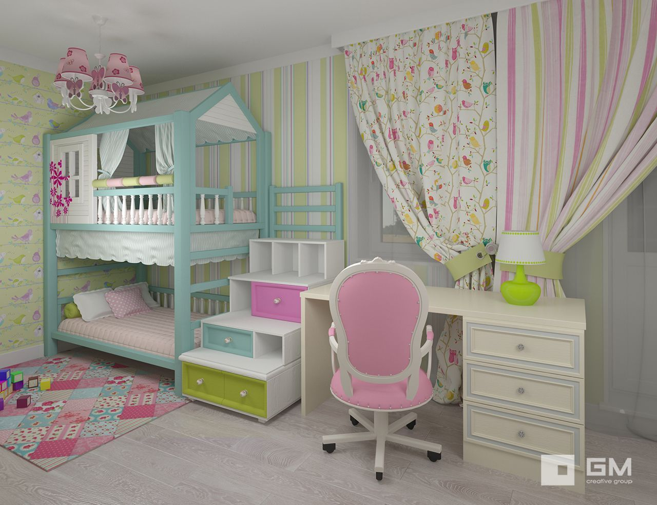 7 Inspiring Kid Room Color Options For Your Little Ones: Chambre Enfant, Chambres