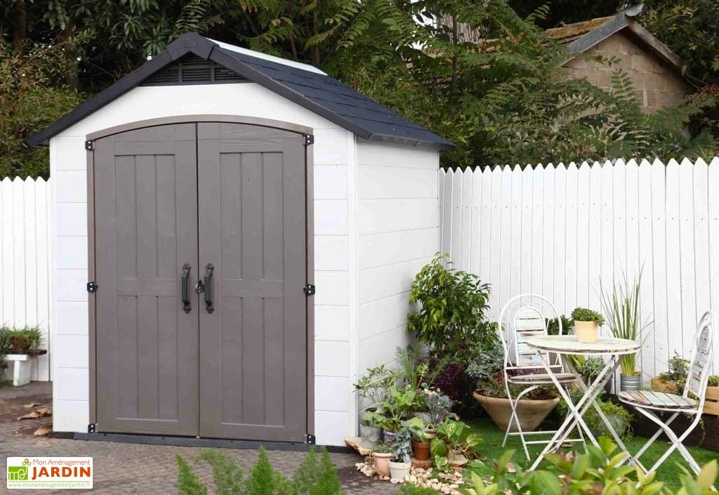 Abri De Jardin Pvc Montfort 759 Aspect Bois Abri De Jardin Abri De Jardin Pvc Abri Jardin Resine
