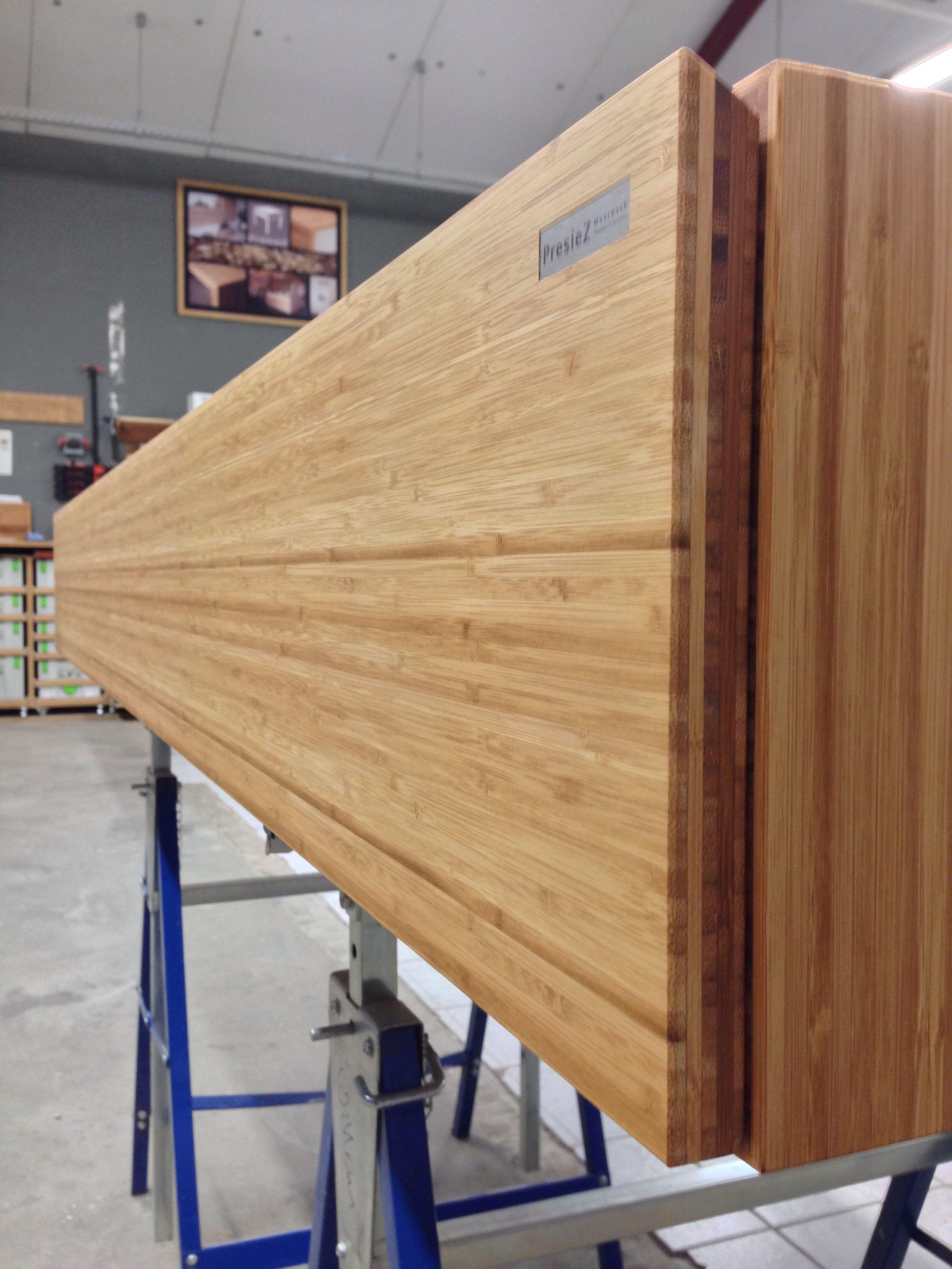 Zwevend Bamboe Lowboard