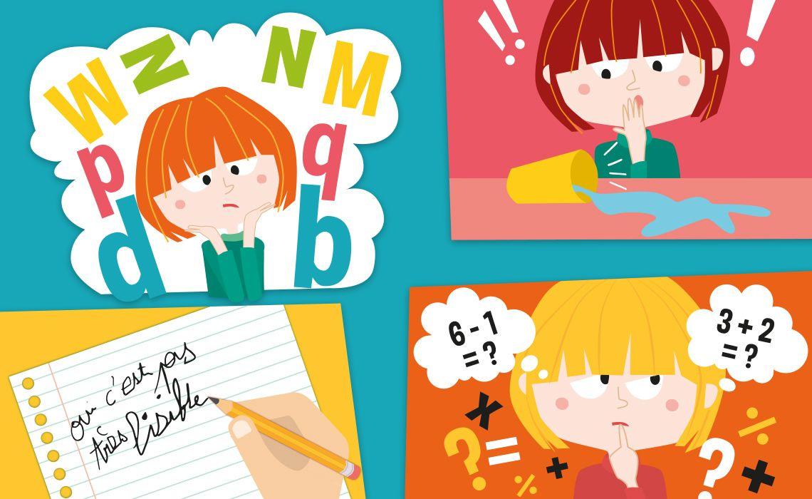 TDAH, troubles d'apprentissage, techniques d'apprentissage, devoirs,  soutien scolaire, dyscalculie