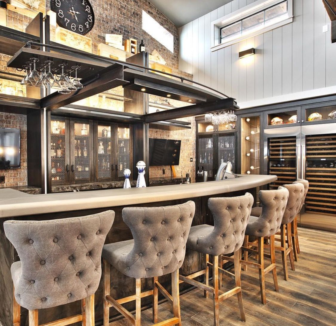 Indoor Home Bars: Pin By Own It Oklahoma On Indoor Bars